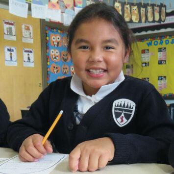 St. James School Girl