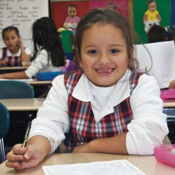Sacred Heart Elementary School Girl