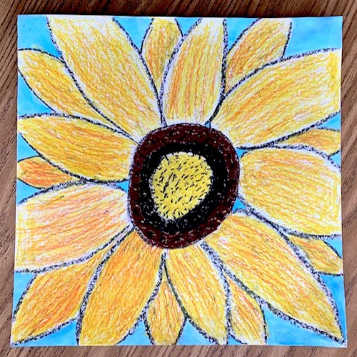 Sunflower Painting by SAIC Student